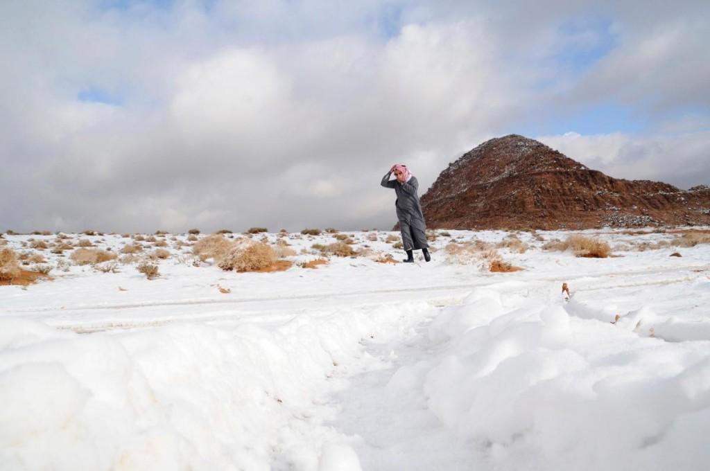 Tanda Akan Kiamat Salju Turun di Jazirah Arab